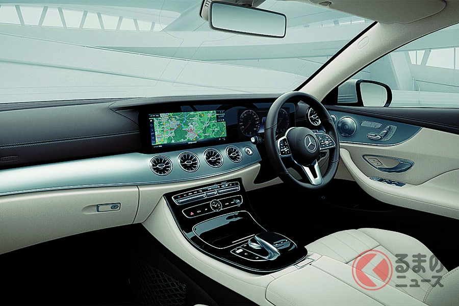 メルセデス・ベンツ「Eクラスクーペ/カブリオレ」を改良 1.5リッターターボ+新技術BSGを搭載した新「E200」が登場
