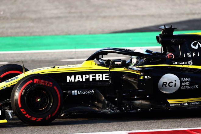 順調に終わったF1テストの内容に自信を深めるルノーF1「他チームとの差は極めて小さい」