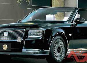 新天皇パレード車がセンチュリーに決定!!!  予算はなんと8000万円!! さっそくCGで制作してみた!!!