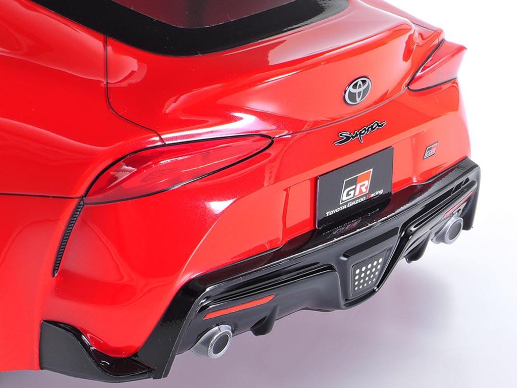 新製品【タミヤ】話題の新型スープラが早くも1/10スケールのRCカーに!