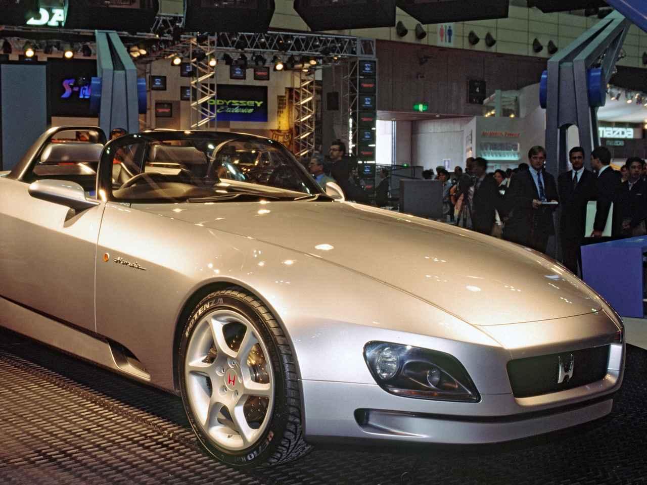 【懐かしの東京モーターショー 15】1995年、ホンダがSSMを出展。これがS2000のベースとなった