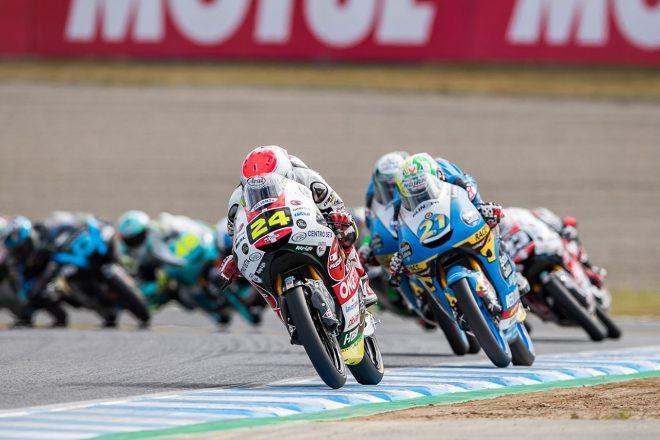 MotoGP日本GP:最終ラップに霧散した鈴木竜生のMoto3表彰台獲得…決定打となったオーバーテイク