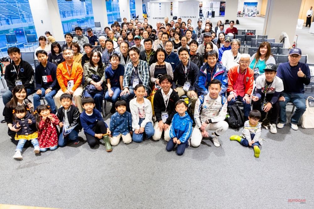 小林可夢偉登場 カロッツェリア・ドライビング・エクスペリエンス 富士で開催