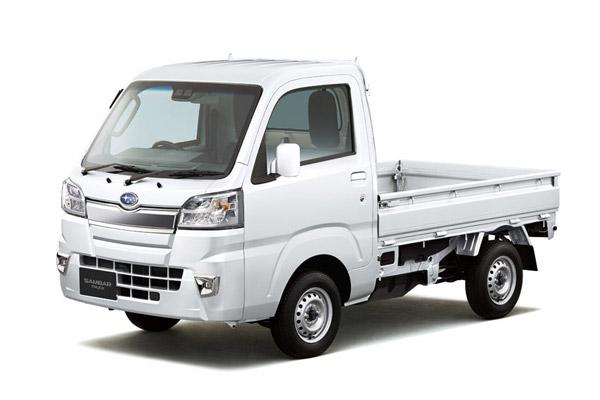 スバル 「サンバートラック」の一部改良モデル発売