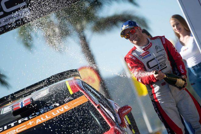 WRC:シトロエン、2019年最終戦へ3台目のC3 WRC投入。王座争うオジエをアシストする狙い