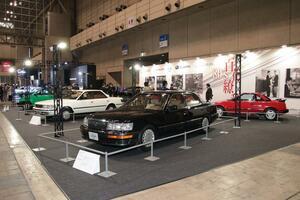 Z32、シティカブリオレ、初代アルシオーネ&レガシィ、カリーナED、AW11、LS400…80年代の名車が集結!【オートモビルカウンシル2019】