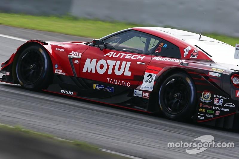 日産GT-R勢が予選を圧倒。23号車MOTUL AUTECH GT-Rが驚異のポール獲得|スーパーGT第5戦富士500マイル予選