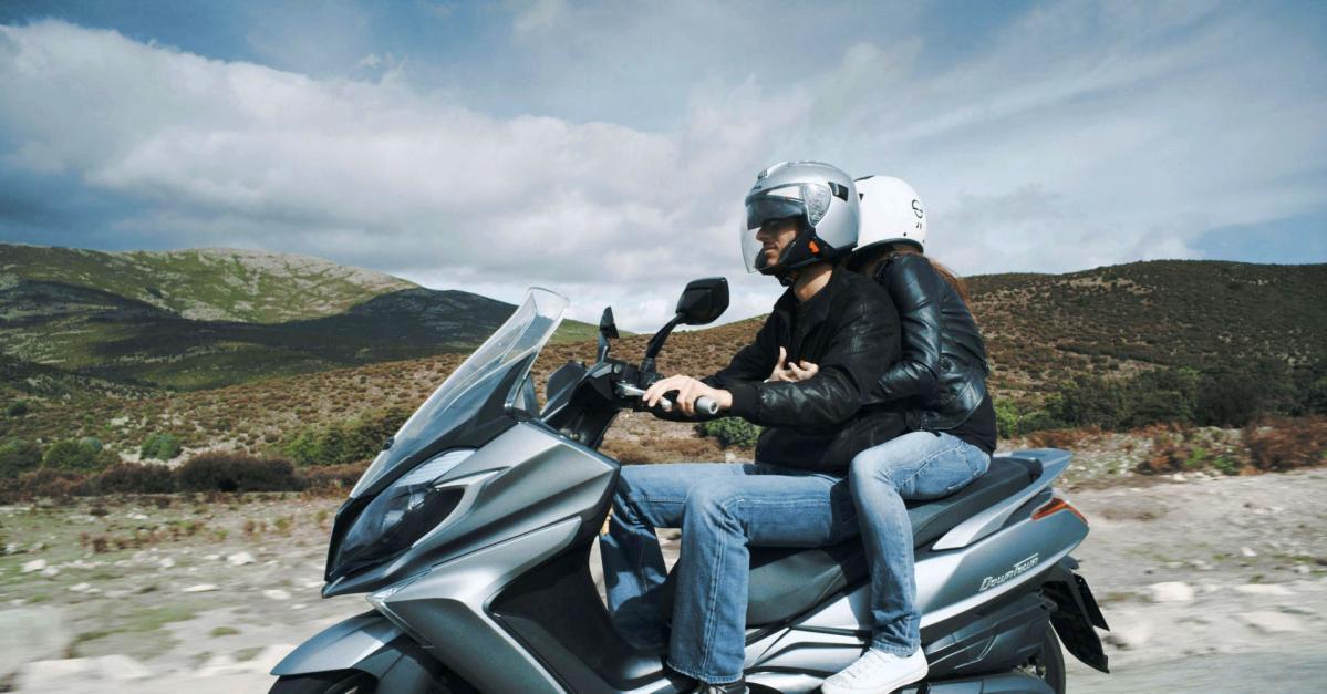 デカ盛り系125ccスクーター「ダウンタウン125i ABS」、3/11より新発売【キムコ】