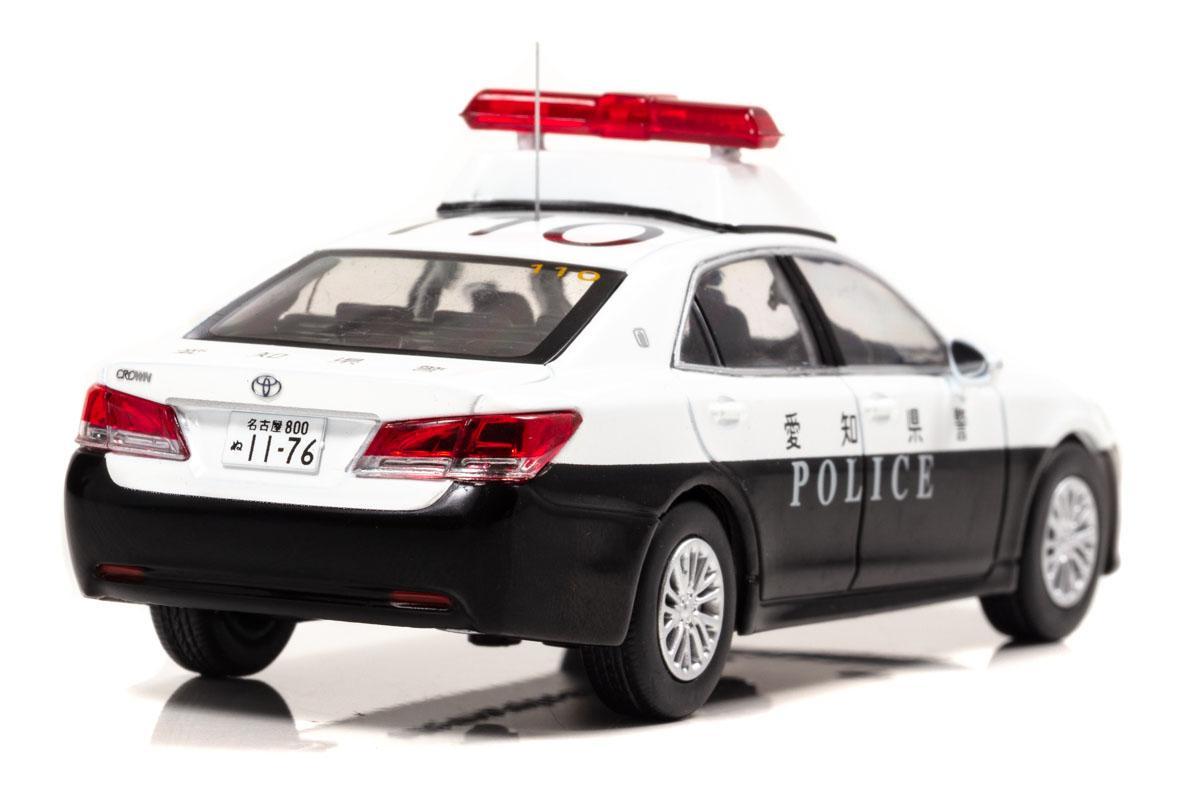 希少な2台がモデル化! 愛知県警クラウンと埼玉県警スカイラインのパトカーが1/43スケールで発売