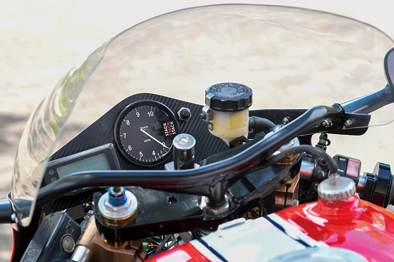 タジマエンジニアリングCB750F TYPE RS(ホンダCB750F)/ツーリングを主にしつつサーキットも楽しめるRSパッケージ#Heritage&Legends