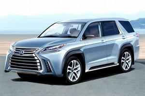 【スクープ】レクサスのラージSUV、「LX」の新型が2020年デビューか?
