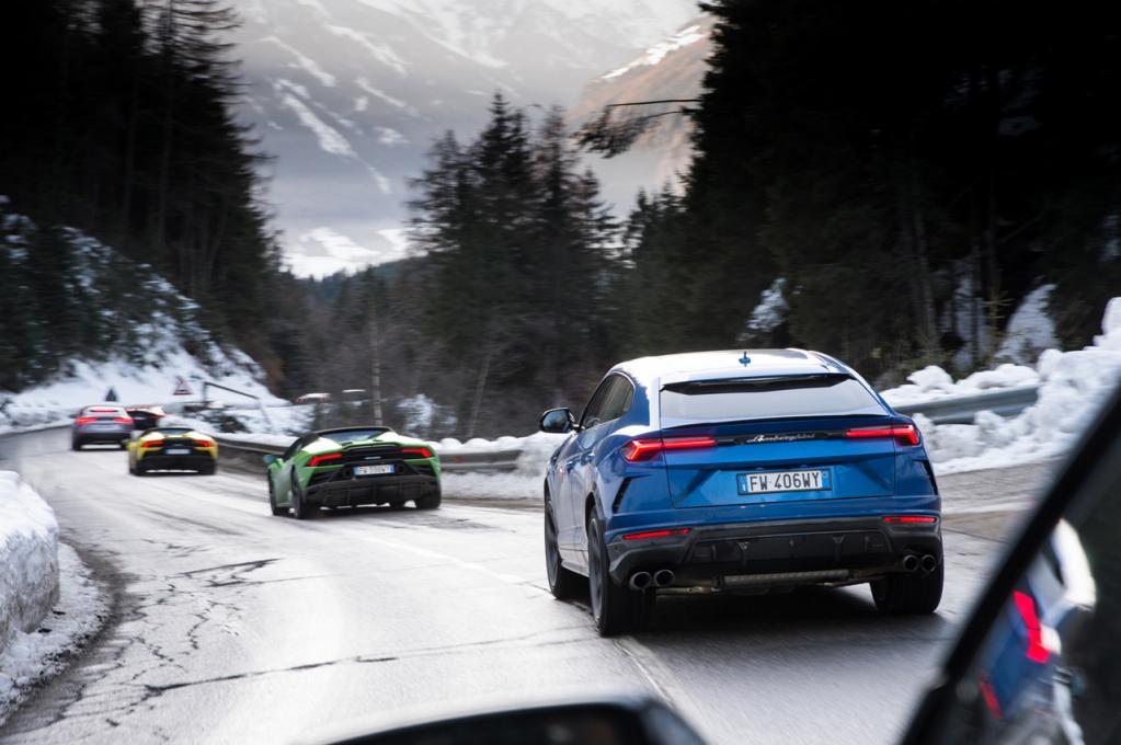 ランボルギーニが本国イタリアで2019年の成功を締めくくるドライブイベント「クリスマスドライブ2019」を実施!