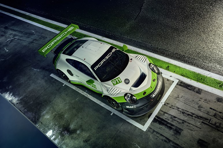ポルシェが911 GT3 Rの新型を発表。4リッターNAの最高出力は550ps