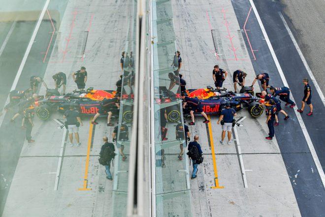 ホンダF1のフェルスタッペンとクビアトがアブダビテストに参加「有意義な走行をし、タイヤについて理解を深めた」