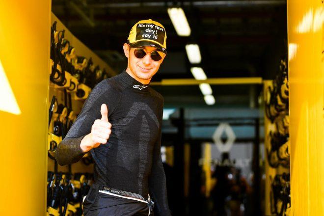 ルノーからF1復帰のオコン「アブダビテストへの参加は2020年に向け大きな意味を持つ」