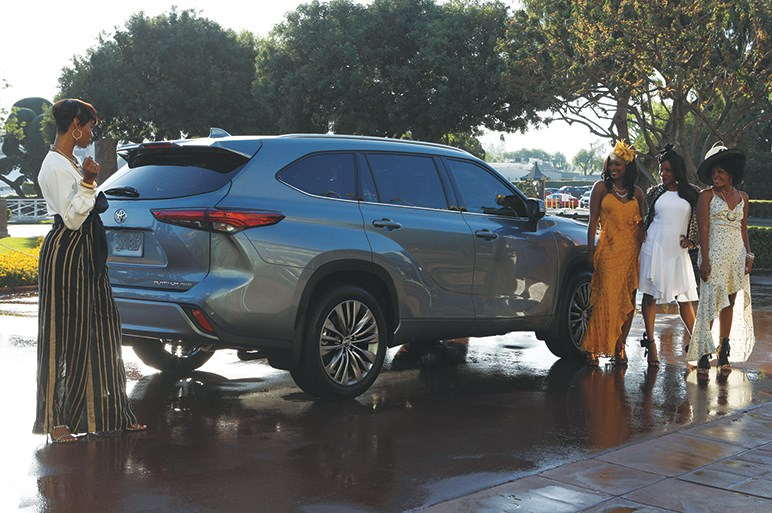 トヨタ、シカゴショーで新型ハイランダーを初披露。国内で販売された「クルーガー」から数えて4世代目