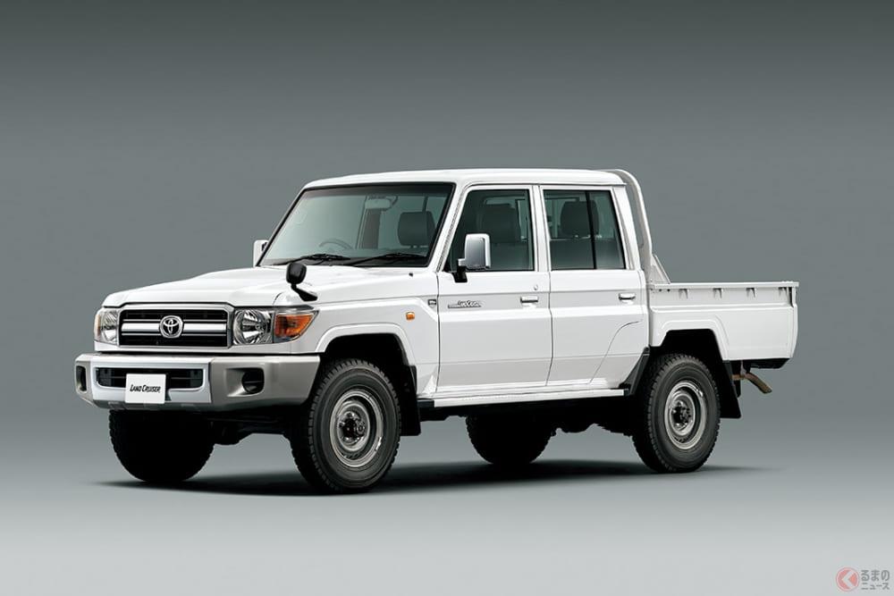 トヨタ「ランクル70」なぜ人気? SUVモデル増加でもランクルが色褪せない理由