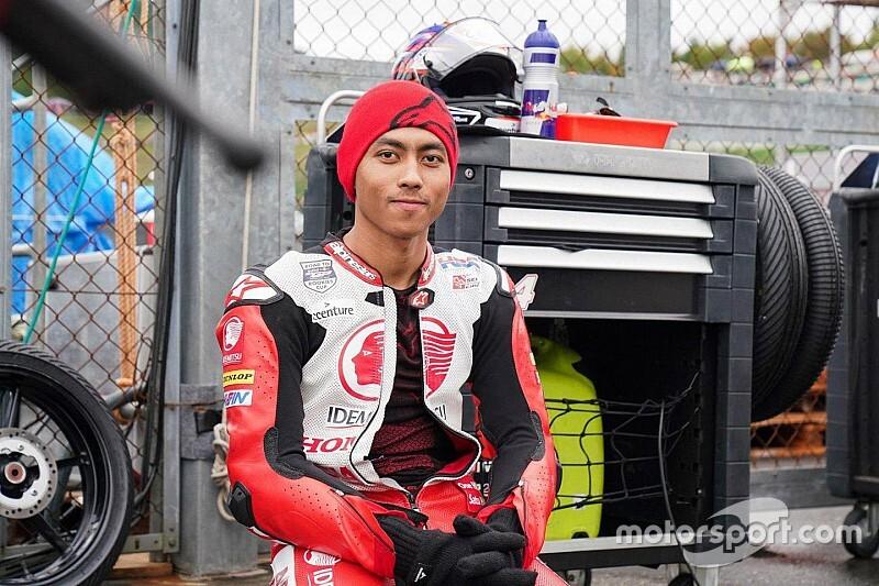 MotoGPのサポートレースとしてセパンで開催のアジアタレントカップで、アフリザ・ムナンダルが事故死