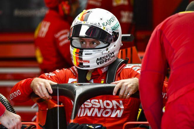 ベッテル4番手「予選は問題なさそうだが、レースに向けてやるべきことが多い」:フェラーリ F1アメリカGP金曜