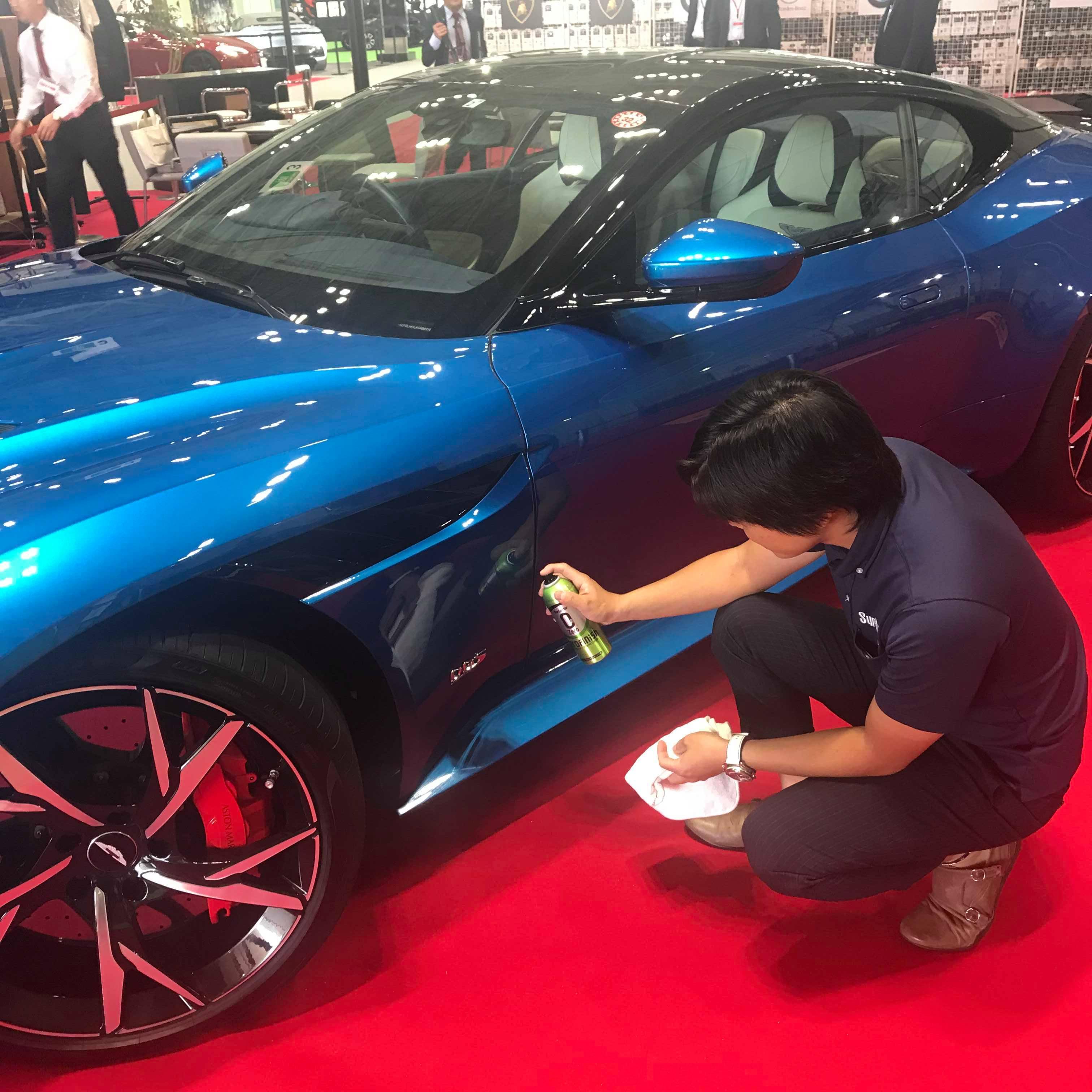 トータル億超えの車たち…スーパーカーをケアするシュアラスターの技術力を東京モーターショーで!