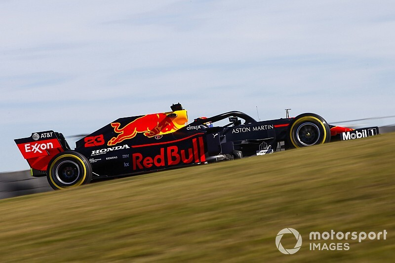 F1アメリカFP1速報:レッドブル・ホンダのフェルスタッペンがトップタイム。アルボンも3番手に続く