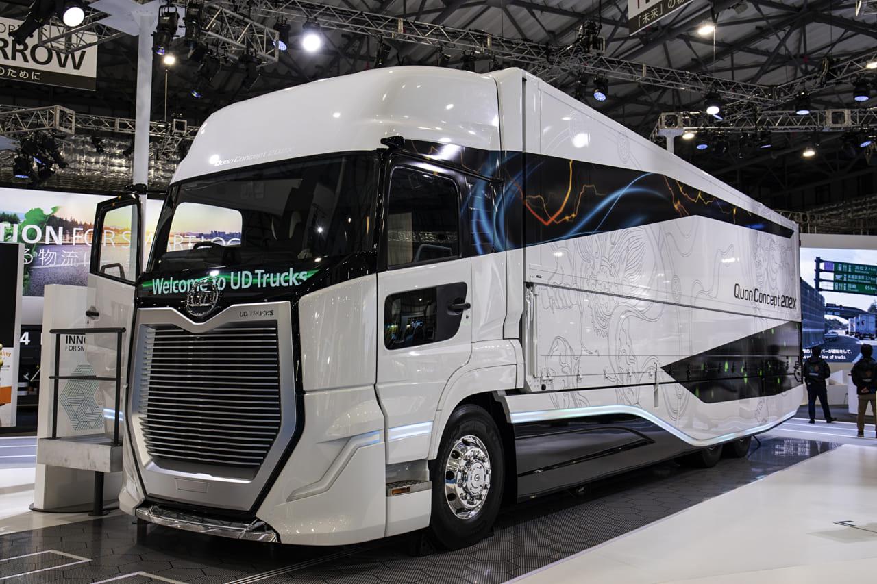 先進的なコンセプトカーはトラックもかっこいい!【東京モーターショー2019】なかなか見る機会のないトラックの世界