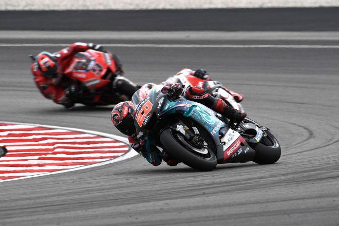 MotoGPマレーシアGP:ポールスタートのクアルタラロ「バイクを止められず」1周目で大きく後退
