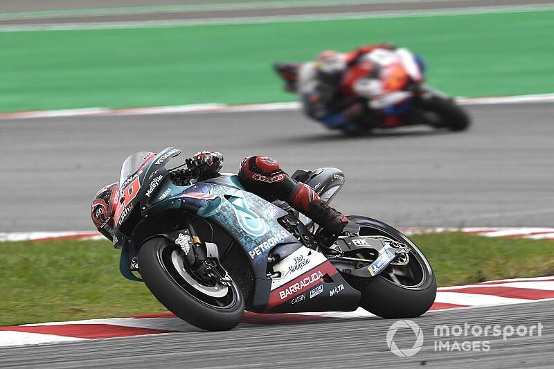 【MotoGP】失速原因はタイヤ内圧? ファビオ・クアルタラロ、初優勝のチャンス逃し「ガッカリ」