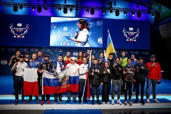 モータースポーツ・ゲームスで日本は3位タイ。濱口/笹原組がGTカップの金メダル獲得