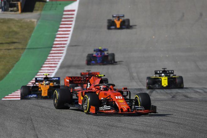 ルクレール、52秒遅れの4位「序盤にあれほど遅かった理由が分からない」とフェラーリ代表:F1アメリカGP