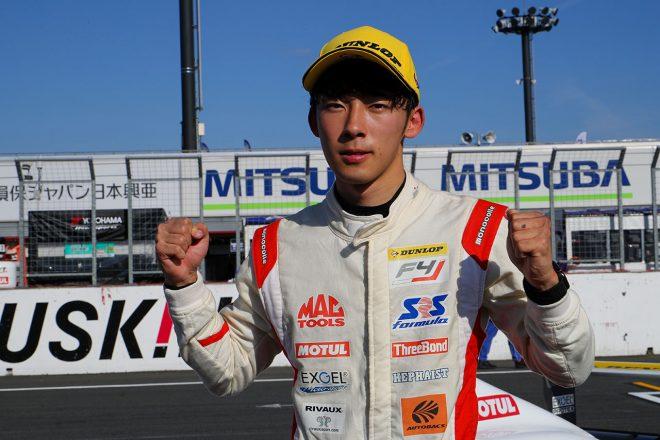 FIA-F4もてぎ:2019年王者佐藤蓮が2連勝。シーズン11勝を挙げて有終の美