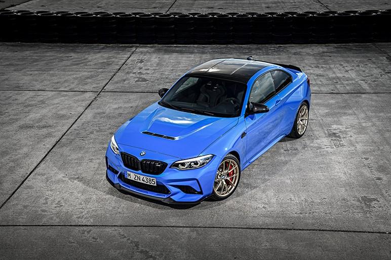 BMW、M2に軽量高出力な限定バージョン「M2 CS」を設定。6気筒ユニットの最高出力は450ps