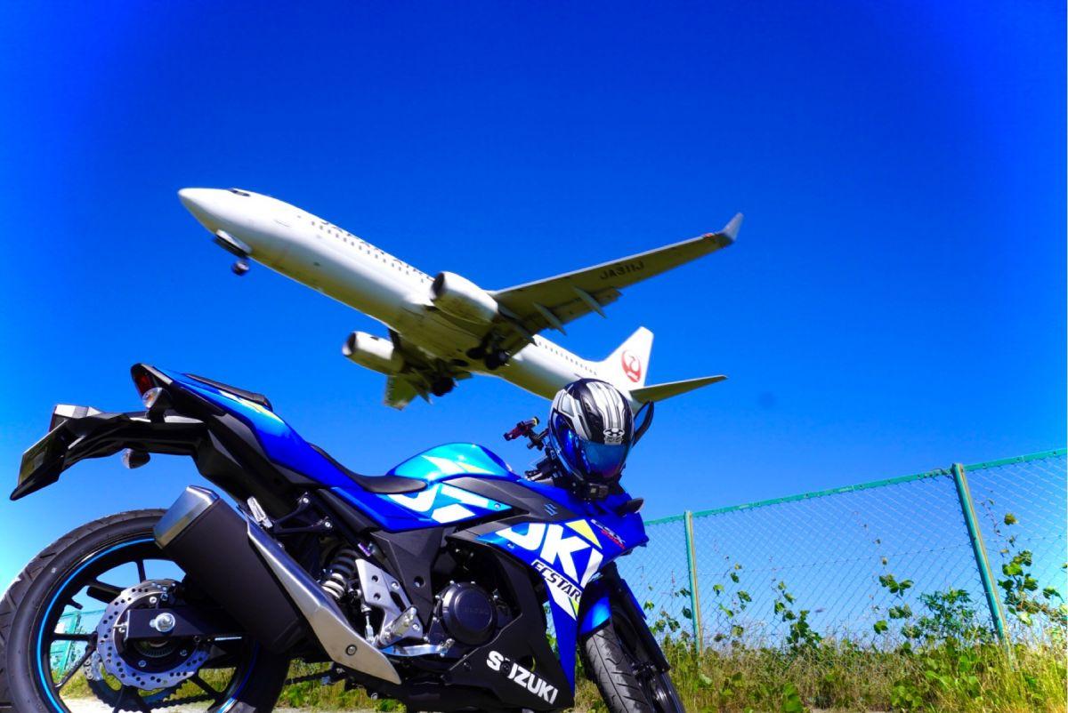 迫力満点の飛行機とツーショット! バイク x 飛行機撮影スポットコレクション!