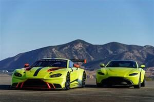 アストンマーティン、新型ヴァンテージベースのレースカー「ヴァンテージGTE」を披露