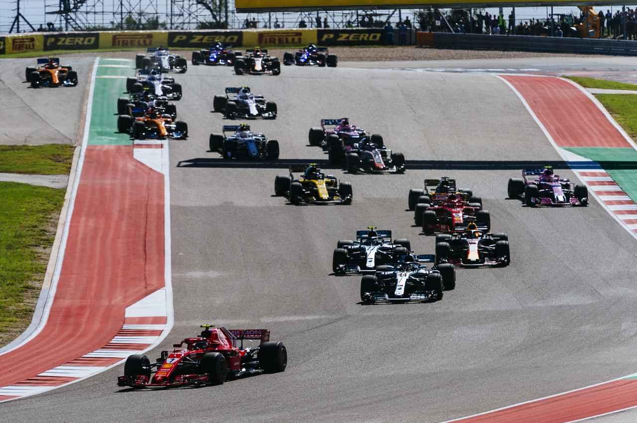 【ニュース】F1第18戦アメリカGPはフェラーリのキミ・ライコネンが5年半ぶりの優勝