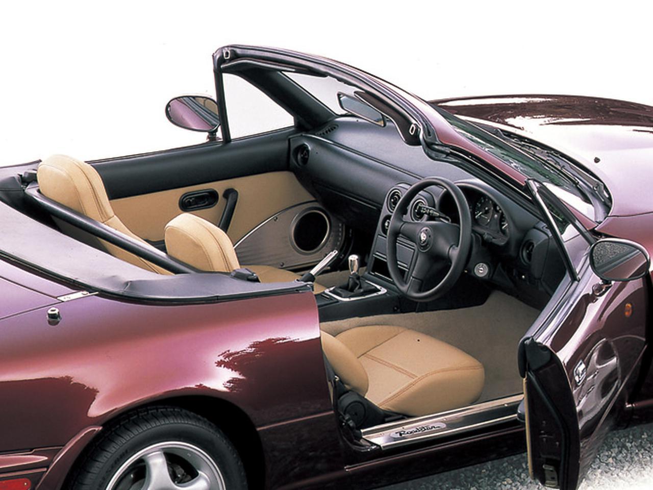 【特別なロードスターNA編09】「コンビネーションA」と「B」、2種類から選べた限定車「VRリミテッド」