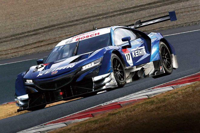 スーパーGT:GT500は全車FRで新時代へ。岡山テストで好調のトヨタ&ホンダ、トラブルが多かったニッサン