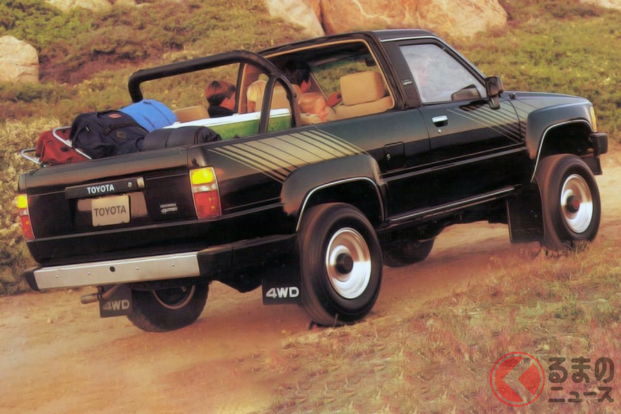 ゴツさがカッコ良かった! RVブームで輝いたクロカン4WD車5選