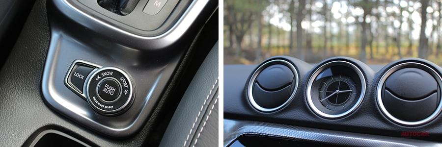 実車 スズキ・エスクード改良新型 全車速追従ACC/車線変更サポートBSM