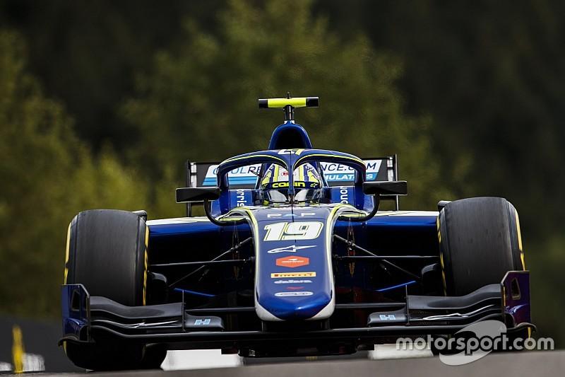 「F2でタイトル獲得が最優先」と語るマクラーレン育成のノリス、今週末もFP1出走。ライバルのラッセルもタイトルに自信