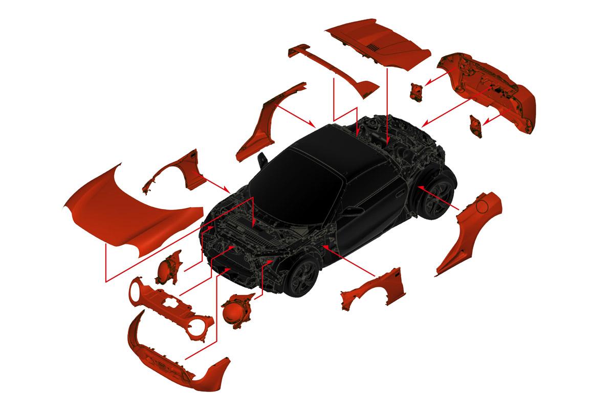 ホンダ「S660」をクラシカルに変身させるカスタマイズキット発売