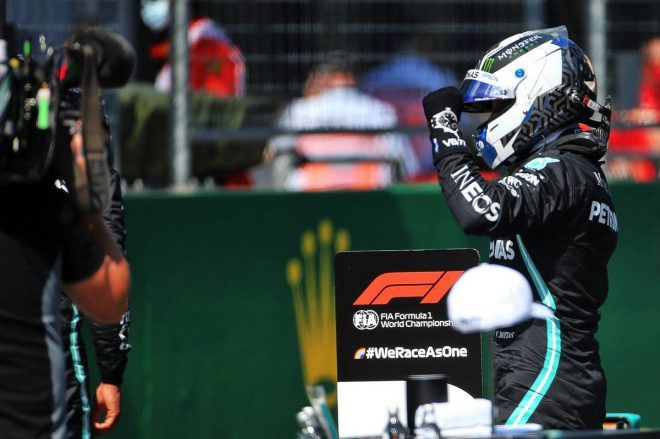 【予選詳報/F1オーストリアGP】ボッタスがハミルトンを上回りポール獲得。フェラーリ勢まさかの大苦戦でベッテルQ2敗退