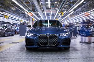 BMW 4シリーズの生産がスタート。改良新型のM5や5シリーズのラインも同時に稼働開始