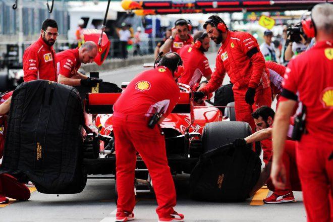 F1第12戦ハンガリーGPレース、20人のドライバーの「持ちタイヤ」