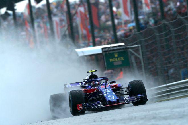 トロロッソ・ホンダF1密着:雨を味方につけ、マクラーレン・ホンダ時代を超える予選結果を獲得