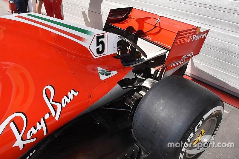 """フェラーリの最高速向上は""""ブロウンリヤウイング""""採用の結果か? ドイツでテストした新しいアイデア F1ニュース"""