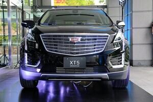 新型キャデラック XT5 クロスオーバー発表、左ハンドルのみ