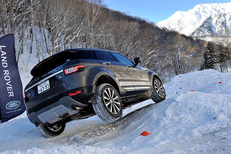 雪上イッキ乗りで辿りついた結論とは?…ジャガーFタイプ&XE、イヴォーク&レンジローバー