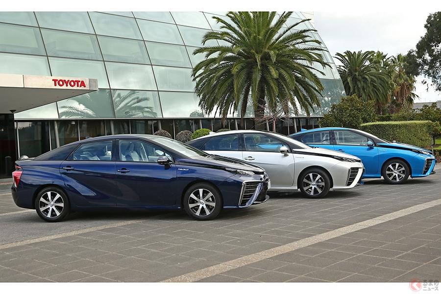 """トヨタ新型「MIRAI」発売 """"次世代のクルマ""""に相応しい最新の安全性能を搭載"""