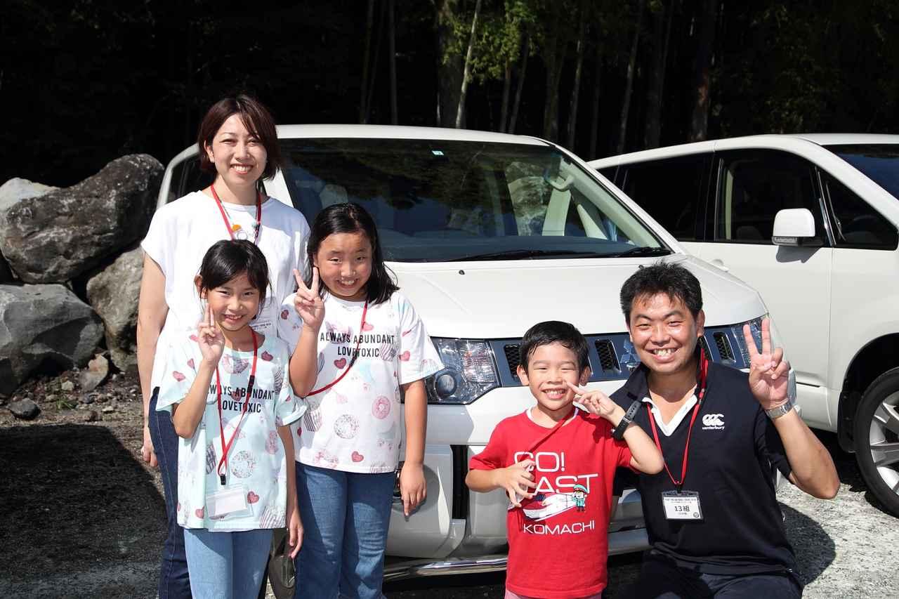 「クルマの学校 ラフロード篇」参加者インタビュー【第6回】「10年間のデリカD:5に乗りたいという思いが今春に叶いました」